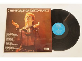 ** David Bowie ‎– The World Of David Bowie **