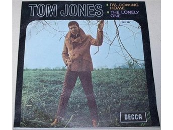 Tom Jones 45/PS I´m coming home 1968 VG++