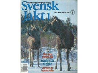 SVENSK JAKT NR 1 1998 Tema : mer varg , mindre älg