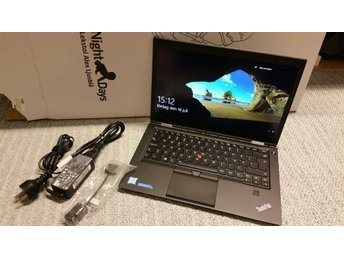 Lenovo ThinkPad X1 Carbon Gen 4 (20FB0040MS) med 512GB M.2 SSD