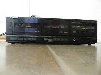 VINTAGE Pioneer CT-W310 Stereo Double Dual Cassette Deck Tape Recorder Player