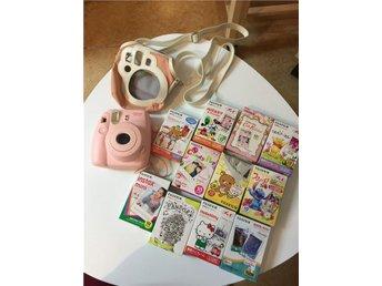 kamera fujifilm instax mini 8 rosa film, polaroidkamera - Gävle - kamera fujifilm instax mini 8 rosa film, polaroidkamera - Gävle
