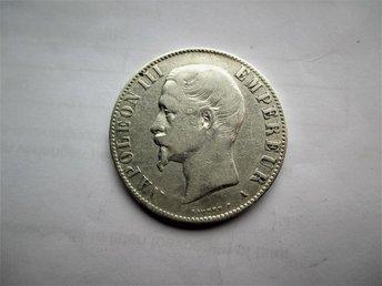 France 5 francs, 1856 A - Ninove - France 5 francs, 1856 A - Ninove