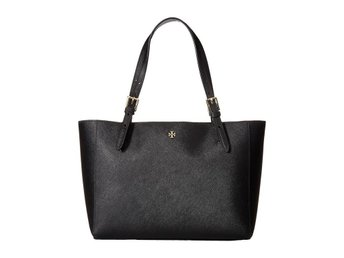"Tory burch ""york small buckle tote Black"""
