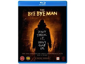 THE BYE BYE MAN - NY & INPLASTAD BLU-RAY!