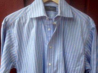 Mkt fin Stenström skjorta, ljusblå rand, stl 38/S. Mkt Bra Skick! - Gustavsberg - Mkt fin Stenström skjorta, ljusblå rand, stl 38/S. Mkt Bra Skick! - Gustavsberg