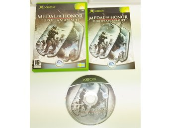 XBOX spelet ** Medal Of Honor, European Assault **** ** KOMPLETT **