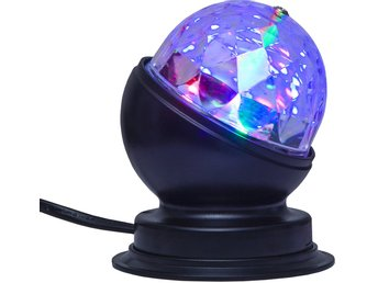 BORDSLAMPA DISCO LED