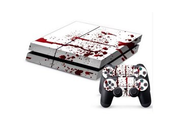 PS4 Skins / PlayStation 4 Dekal - Blodstänk / Blod