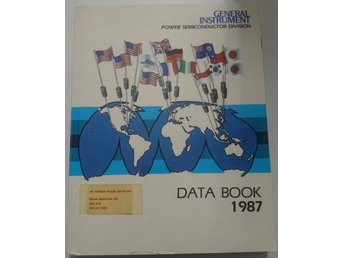 General Instrument Power Semiconductor Division Data Book 1987