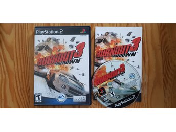 Burnout 3 PS2 Playstation 2 Komplett Mycket Gott Skick