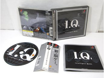I.Q.: Intelligent Qube (saknar spine) till japanskt Playstation PS1
