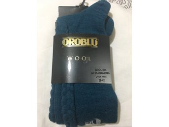 New Oroblu luxury wool over knee Chantel socks, color, size 39-42