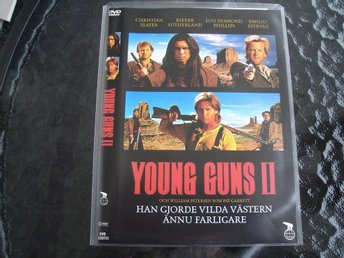 DVD-YOUNG GUNS 2 *Emilio Estevez, Slater, Sutherland, Phillips*