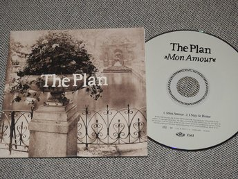 The Plan - Mon Amour CD Singel (pappfodral)
