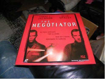 The Negotiator - AC-3 - Widescreen edition  - 2st Laserdisc