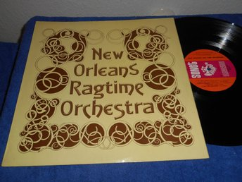 New Orleans Ragtime Orchestra (LP) UK 1972 NM/EX