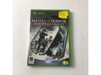 EA Games, XBOX-Spel, Medal of Honor European Assult , Grå/Flerfärgad