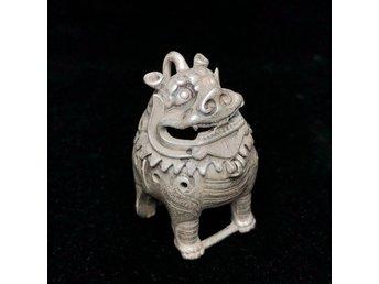 Beauty And The Beast Crude Groom Dancing Charm European Bead Tibetan Silver H1