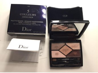 Dior 5 Couleurs Designer all in one professionl palette Base&Liner&shadows #508