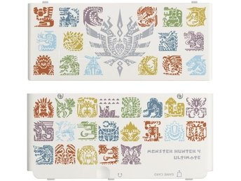 Nintendo New 3DS Cover MH4U white