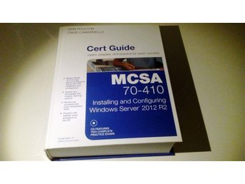 MCSA 70-410 Cert Guide - Certifiering Windows 2012 Server - Microsoft