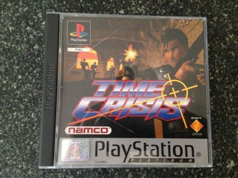 Time Crisis PS1 PSone