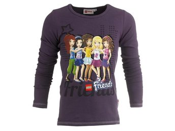 LEGO WEAR T-SHIRT FRIENDS, LILA (128)