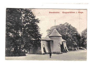 Koppartälten i Haga ~1911 - Segeltorp - Koppartälten i Haga ~1911 - Segeltorp