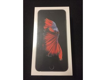 Helt ny / oöppnad /  iPhone 6S Plus 16GB svart ( Space Gray )
