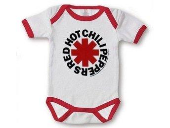 REA Sparkdräkt Baby Barn 18-24mån Red Hot Chilli Peppers - Kivik - REA Sparkdräkt Baby Barn 18-24mån Red Hot Chilli Peppers - Kivik