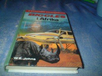 W.E.JOHNS:BIGGLES I AFRIKA 1981 - Genarp - W.E.JOHNS:BIGGLES I AFRIKA 1981 - Genarp