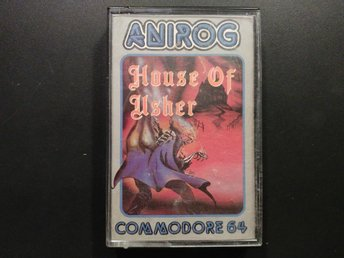 House of Usher till Commodore 64 / 128 | C64 | C128 | Anirog