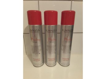 3 x 300ml Lanza Finishing Lacquer -extreme hold finishing spray