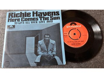 RICHIE HAVENS - HERE COMES THE SUN / TO GIVE ALL... - 7""