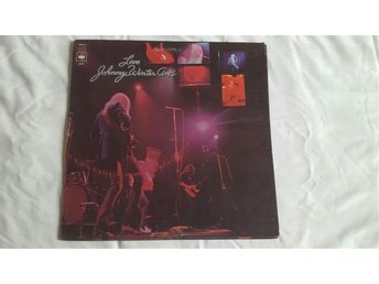 JOHNNY WINTER AND - LIVE Original UK LP MINT