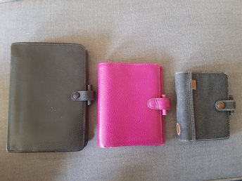 Filofax personal Kensington, pocket Finsbury, mini Denim