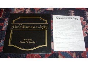 SAN FRANSISCO LTD Crystal Clear Audiophil 45rpm Direct to di