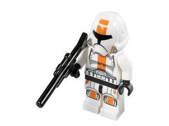 Lego - Star Wars - Figurer - Republic Trooper  med vapen 75001 NY