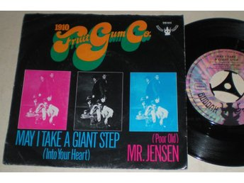 1910 Fruitgum Co. 45/PS May i take i giant step 1968 VG++