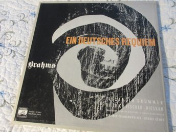 Klassisk Box 2LP , Brahms. Ein deutsches Requiem.
