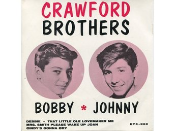 CRAWFORD BROTHERS Cindy's gonna cry + 3 1963 EP PS
