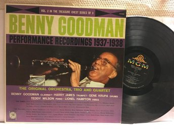 BENNY GOODMAN - PERFORMANCE RECORDINGS - VOL. 2