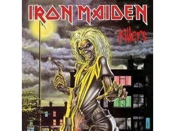 IRON MAIDEN - KILLERS. NEW LP.