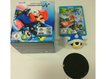 NYSKICK NINTENDO WII U LIMITED EDITION MARIO KART 8  SPINY SHELL COLLECTORS ITEM