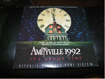Amityville 1992 - It's about time - 1st  Laserdisc