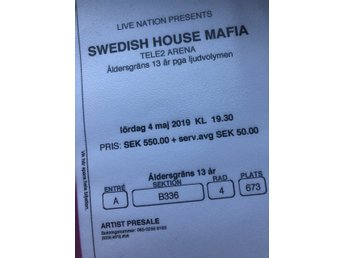 Swedish House Maffia 4/5