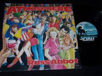 "RUSS ABBOT - ATMOSPHERE 12"" 1984 EXT. DISCO PARTY MIX"