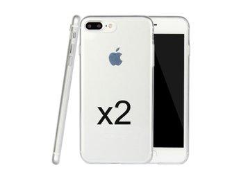 2-pack - Skal i genomskinligt gummi, iPhone 7 Plus - Bromma - 2-pack - Skal i genomskinligt gummi, iPhone 7 Plus - Bromma