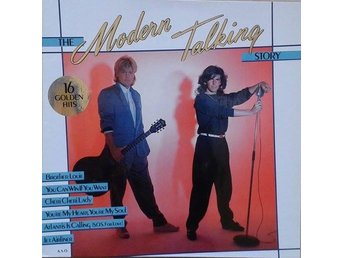 Modern Talking titel* The Modern Talking Story*LP, Comp. - Hägersten - Modern Talking titel* The Modern Talking Story*LP, Comp. - Hägersten